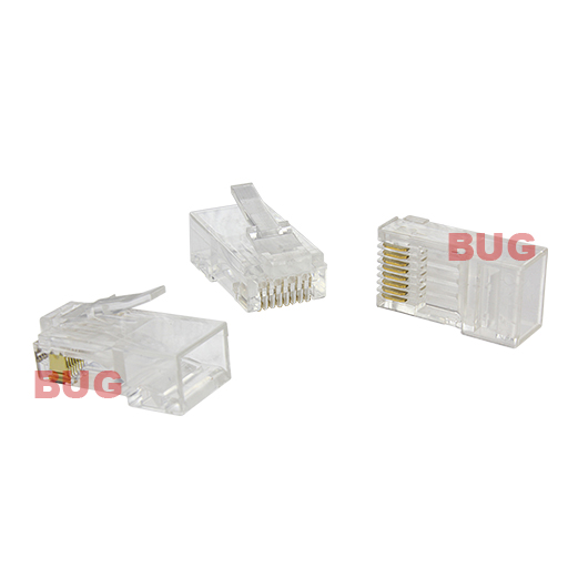 connector cat5e unshield bug